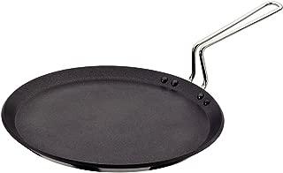 Futura Q40 Non-Stick Flat Tava Griddle, 30 cm, Black