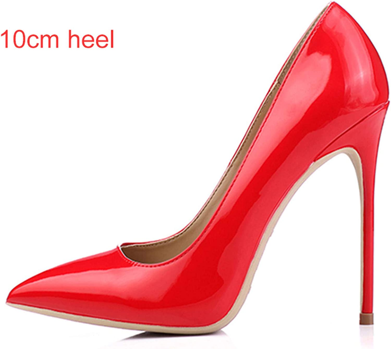 Micca Bacain Women shoes 8cm 10cm 12cm High Heels Pumps Sexy Ladies shoes Pointed Toe Classic Wedding shoes