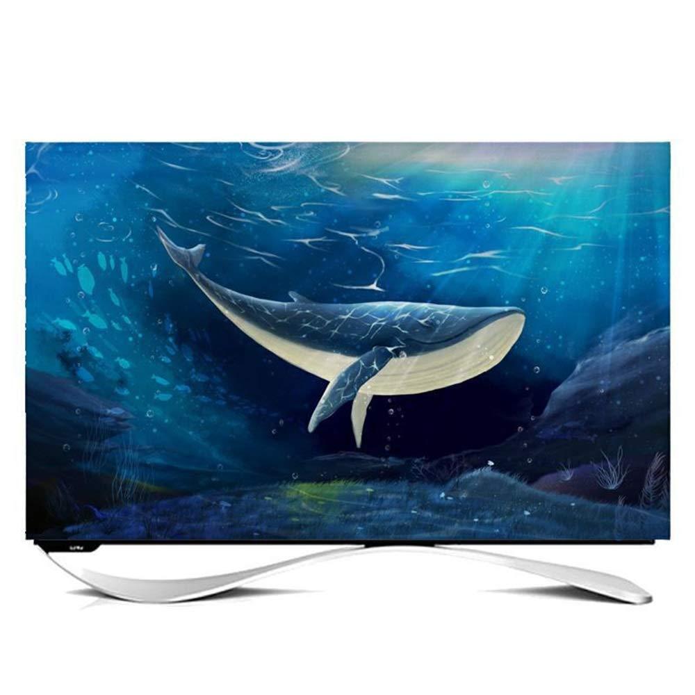Gwgbxx TV Tapa Cubierta De Polvo Paño Sencillo Y Moderno (Color : B, Size : 28