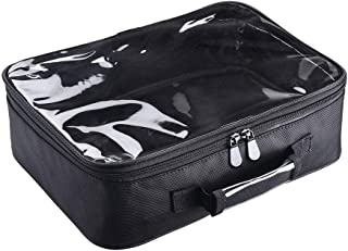 AW 420D Clear Nylon Makeup Travel Toiletry Bag Portable Lightweight Transparent Cosmetic Storage Organizer Pool L