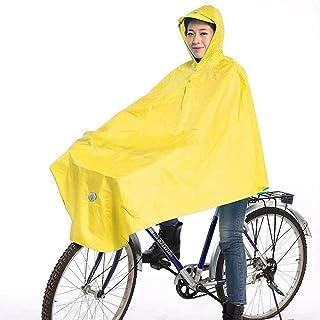 Yuany Poncho de Bicicleta, Impermeable Reutilizable para Hombres y Mujeres con Chaqueta Impermeable para Estudiantes