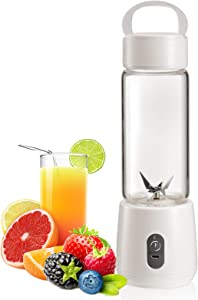 ChirRay Portable Juicer Electric USB Rechargeable Blender 5100mAh MixerCup Maker fast