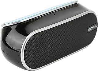 Portable Bluetooth Speaker By Somho, Black