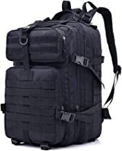 Honeytecs Assault Pack Army Molle Bug Out Bag Travel Backpack for Outdoor Hiking Hunting 40L