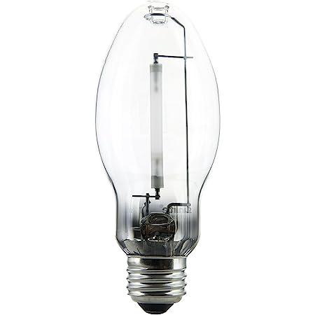 Sunlite 03610-SU LU70/MED High Pressure Sodium Light Bulb, 70 Watts, ED17/MED, Medium Base (E26), ANSI Code S55, 6000 Lumen, 24000 Life Hours, Clear, 2100K