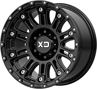 XD Series by KMC Wheels XD829 HOSS II Wheel with BLACK and Chromium (hexavalent compounds) (17 x 9. inches /6 x 106 mm, 18 mm Offset)
