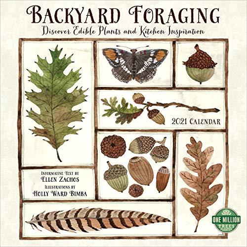 Backyard Foraging 2021 Wall Calendar: Discover Edible Plants and Kitchen Inspiration