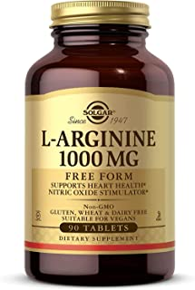 Solgar – L-Arginine 1000 mg, 90 Tablets