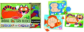 Melissa & Doug Animal Pattern Blocks