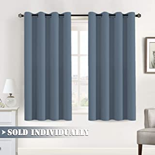 Flamingo P Stone Blue Blackout Curtains 63 Length for...