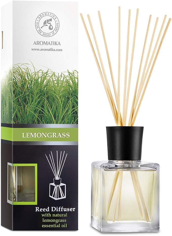 43 opinioni per Diffusore di Fragranza con Bastoncini Lemongrass- 200ml- Diffusore con Olio
