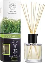 Room Fragrance Diffuser Lemongrass 6.8oz - 200ml - 8 Bamboo Sticks - with Pure & Natural Lemongrass Essential Oil - Intens...