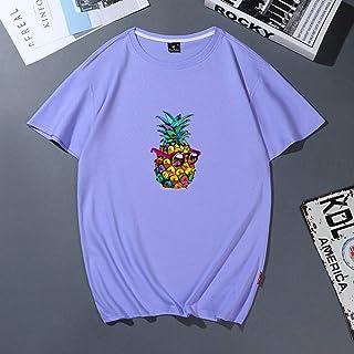 Womens Hoodie Sweatshirt Oversized Pull-Over/Summer Sun Beach Pineapple Funny Aesthetic Print T-Shirt Women Leisure T Shir...