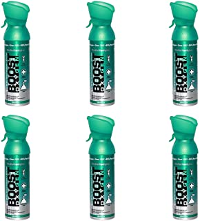 95% Pure Oxygen Supplement, Portable Canister of Clean Oxygen, Increases Endurance, Recovery, Mental Acuity and Performanc...