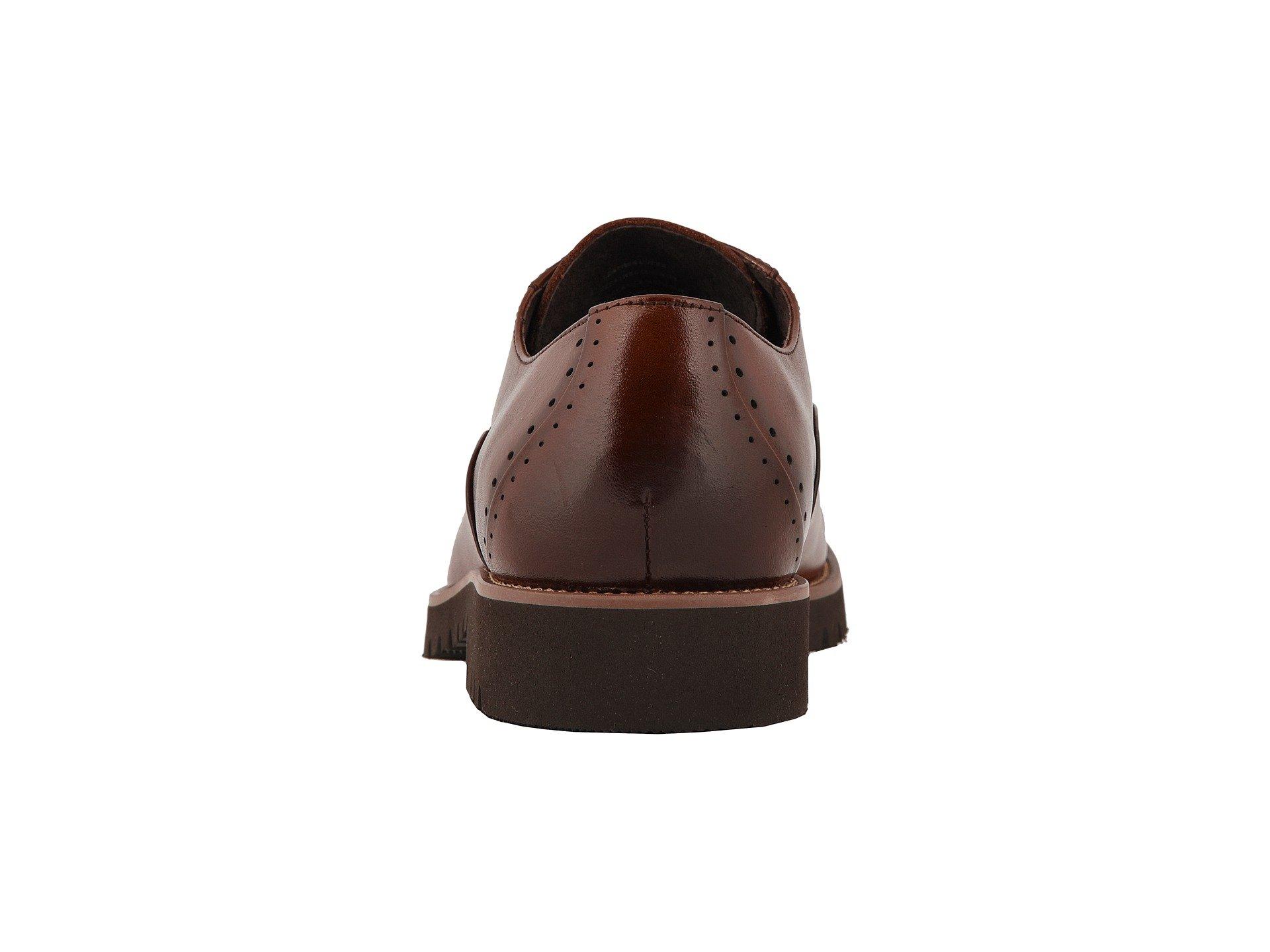 Adams Toe Stacy Cap Barcliff Cognac Oxford Lace Up w4nSPdFxq