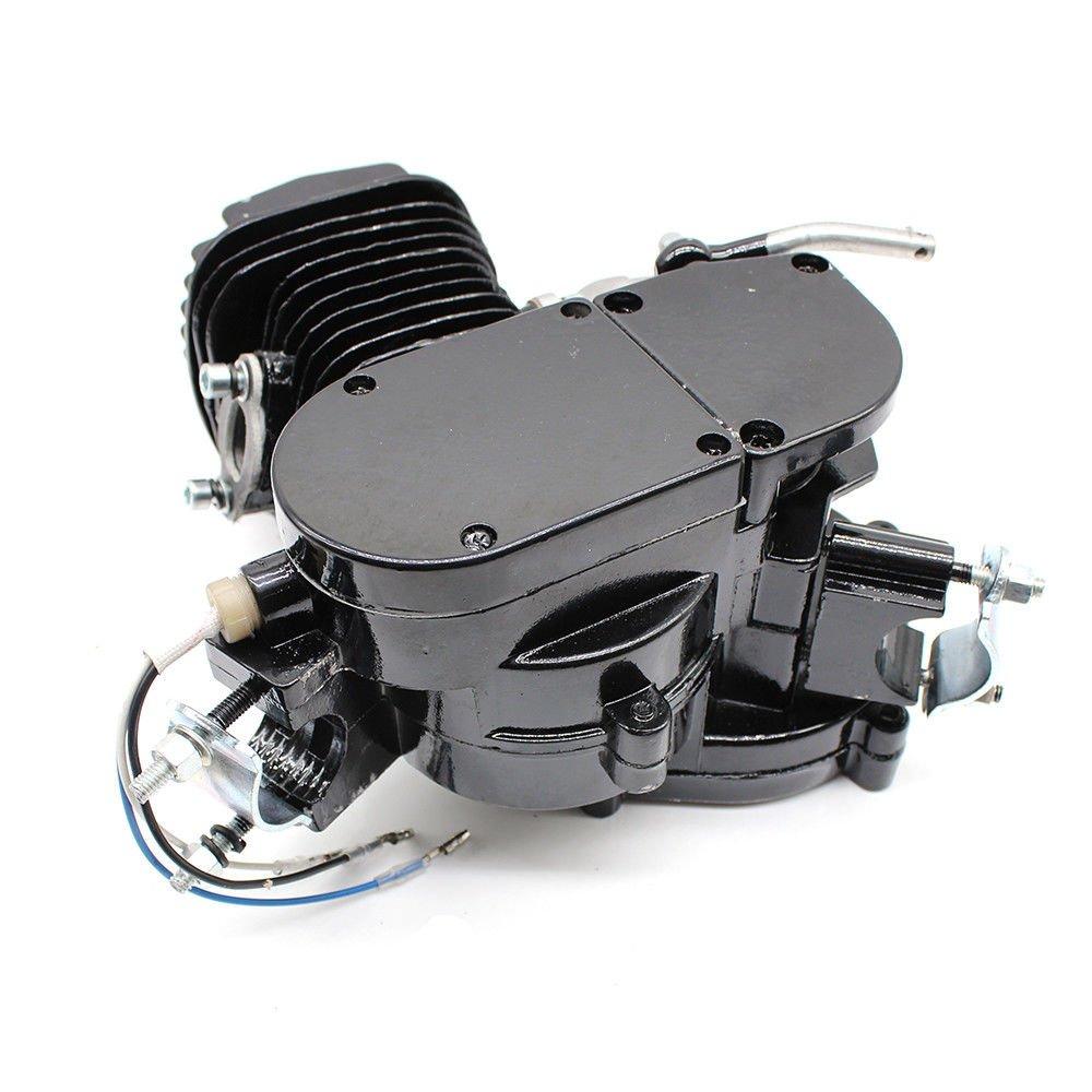 Kit motor gasolina ciclo 2 / tiempo 80 cc para ciclomotor de ...