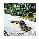 Draeger Zen 2021 - Calendario de pared grande (29 x 29 cm)