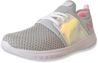 Nautica Girls' Marbled Knit Kappil Sneakers (Sizes 13-5)