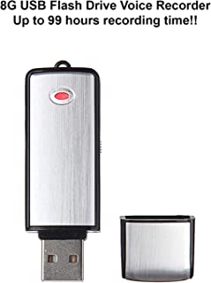 eAnjoy 8G USB Digital Voice Recorder; Crystal Clear Flash Drive Audio Recorder/Mini Voice Recorder