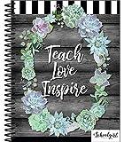 Schoolgirl Style - Simply Stylish | | Teacher Planner, Undated, Academic Year Lesson Plan Organizer