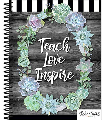 Schoolgirl Style - Simply Stylish | | Teacher Planner, Undated, Academic Year Lesson Plan Organizer