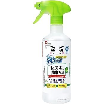 セスキの激落ちくん 密着泡スプレー 洗剤 500ml ( アルカリ電解水 + セスキ炭酸ソーダ )