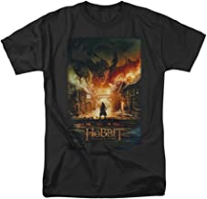 Hobbit Movie Smaug Poster Licensed Adult T-Shirt