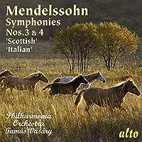 Mendelssohn: Symphonies Nos. 3 & 4 ('Scottish' & 'Italian') by Philharmonia Orchestra (2011-07-12)