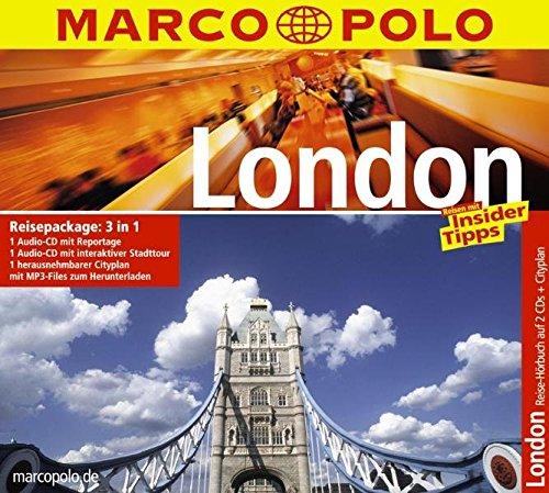 Marco Polo Reisepackage London (2 Audio-CDs + City-Plan)