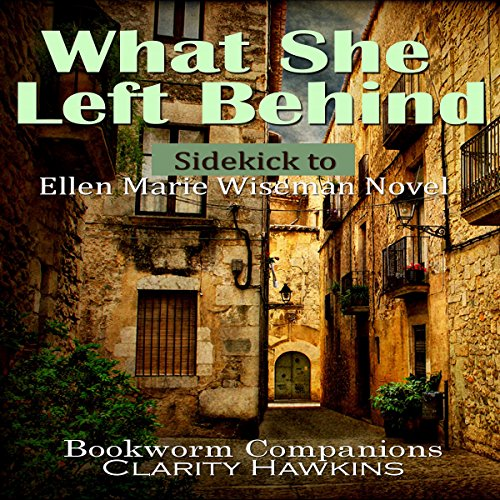 What She Left Behind by Ellen Marie Wiseman: Sidekick                   By:                                                                                                                                 Clarity Hawkins,                                                                                        Bookworm Companions                               Narrated by:                                                                                                                                 Randal Schaffer                      Length: 1 hr and 11 mins     2 ratings     Overall 1.5