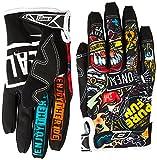 O'Neal Mayhem CRANK MX DH Moto Cross Handschuhe Downhill Mountain Bike Glove, 0385JC-1, Größe Large