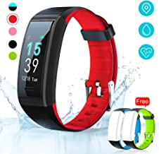 AKASO Helium Fitness Tracker Activity Tracker with Heart Rate and Sleep Monitor Smart Pedometer Watch Calorie Counter Step Counter Fitness Tracker Watch for Kids Women Man (H-BAND3)