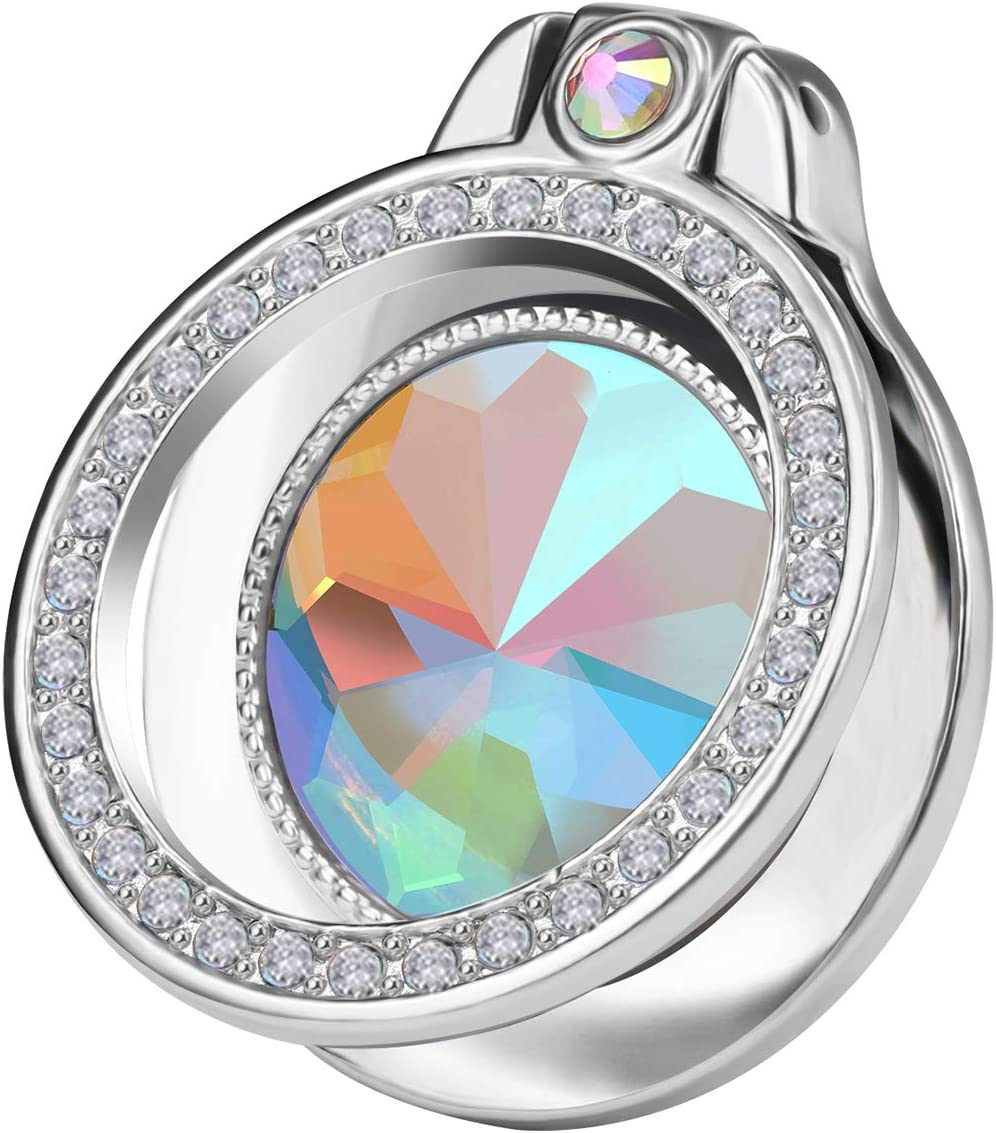 Glitter Bling Diamond Phone Ring Kickstand Holder for Girls Wome