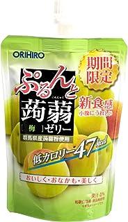 Orihiro Purun To Konnyaku Jelly Plum, 130 g