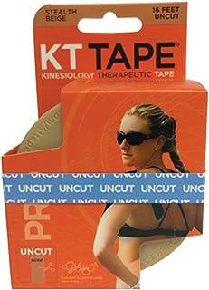 نوار ورزشی KT Tape Pro Kinesiology ، آزاد لاتکس ، مقاوم در برابر آب ، نوار درمانی ، انتخاب طرفدار و المپیک ، گزینه های دقیق و ناخوشایند ، 1 رول
