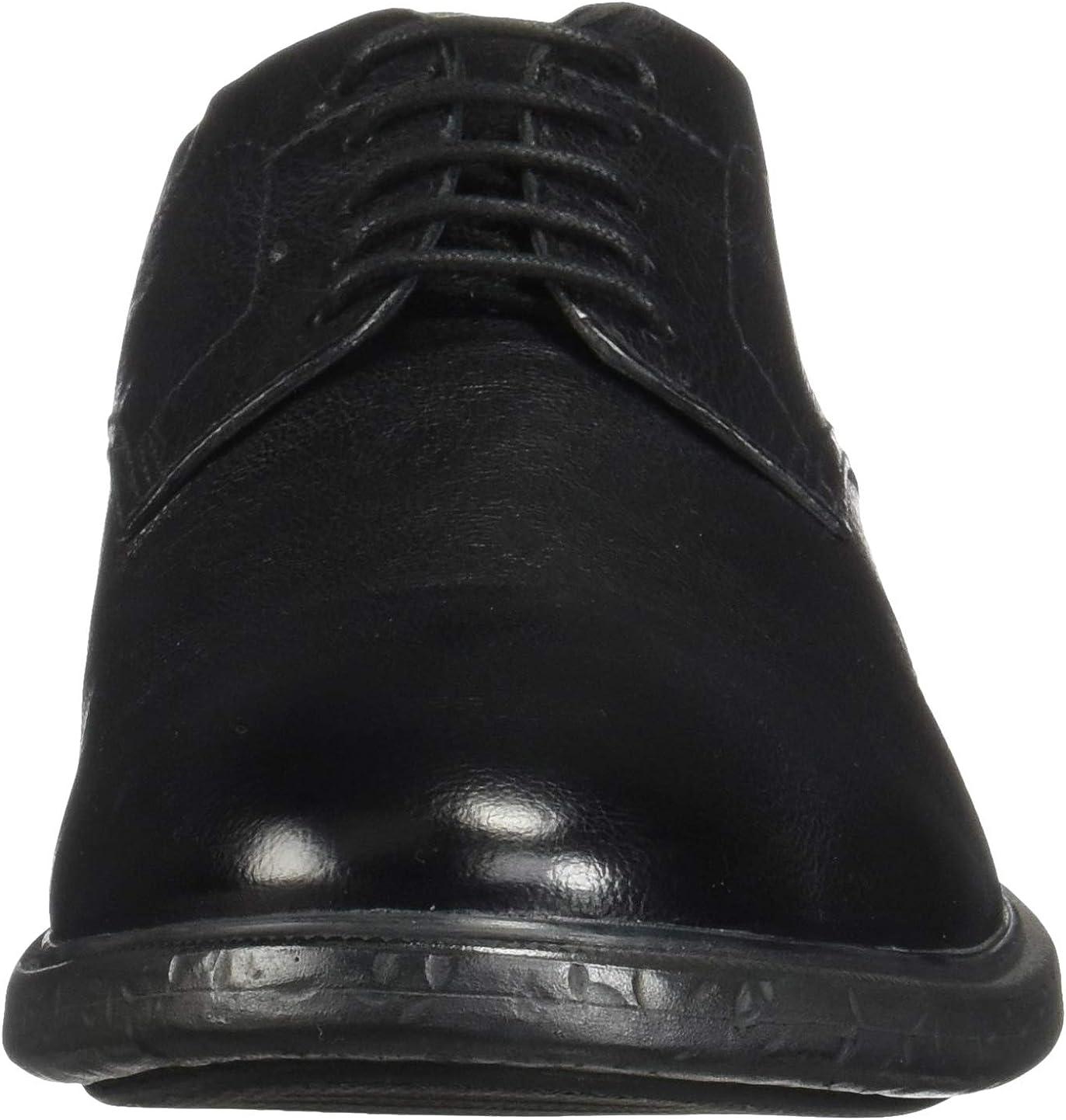 Geox Mens U Terence Black Oxfords & Lace Ups Plain Toe Shoes 11