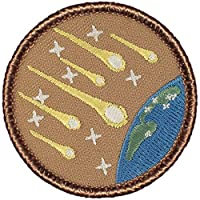 Image: Meteor Shower Patrol Patch - 2 inches Round! by PATCHTOWN
