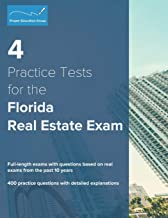 4 Practice Tests for the Florida Real Estate Exam: 400 Practice Questions with Detailed Explanations