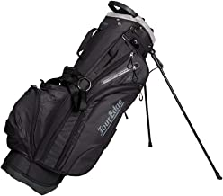 Tour Edge Hot Launch HL4 Golf Stand Carry Bag-Black Silver, One Size (UBAHNSB01)