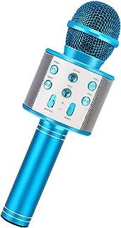 RXYYOS Inalámbrico Bluetooth Karaoke Micrófono Reproductor