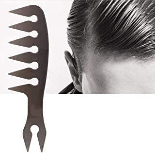 Long Handle High Quality Wide Tooth Hairdressing Hair Comb Comb Home Salon Practical Plastic 4