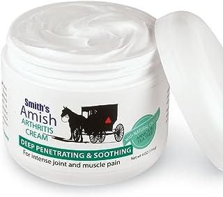 Sponsored Ad - Smith's Amish Arthritis Cream (4 oz) with Botanicals of Arnica, Peppermint, Tea Tree, Rosemary and Eucalyptus
