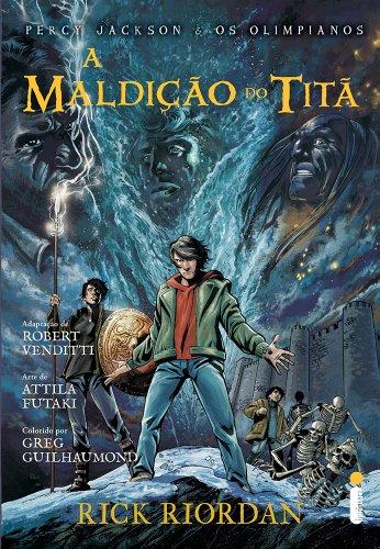 A Maldição do Titã. Graphic Novel
