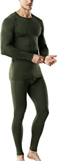 Blank Men's Microfiber Fleece Lined Top & Bottom Set