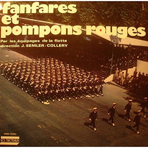 J.SEMLER-COLLERY/EQUIPAGES DE LA FLOTTE fanfares et pompons rouges LP VG++