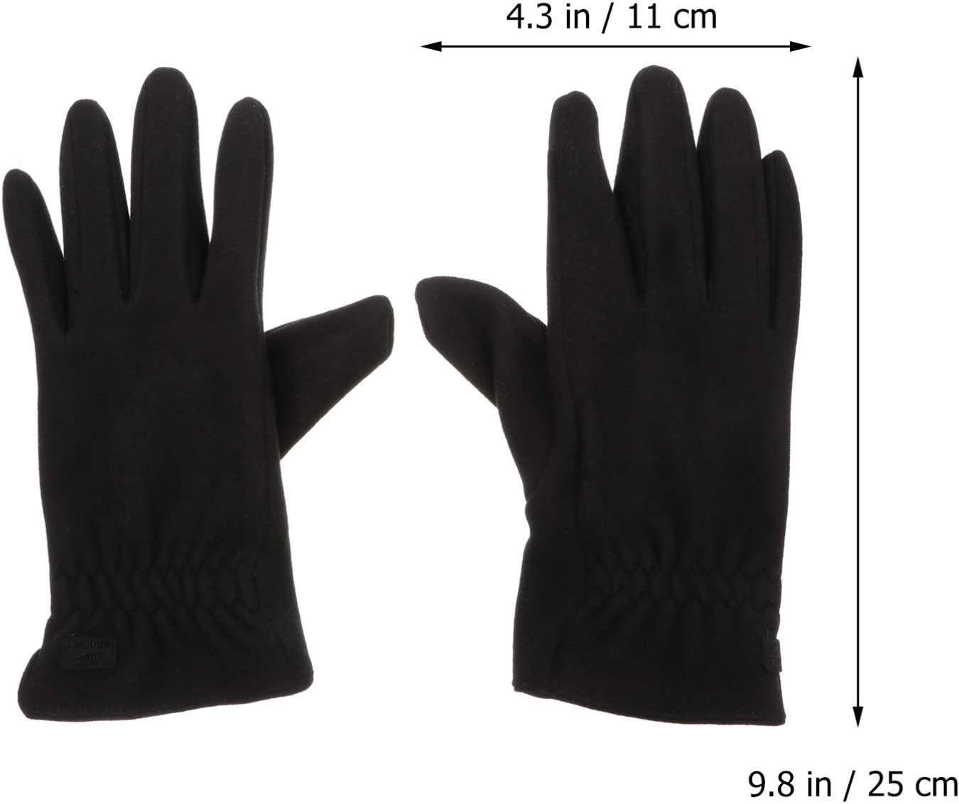Garneck Winter Touch Screen Gloves Cold Weather Warm Mittens Winter Workout Running Cycling Training Ski Driving Sport Gloves for Woman Man Winter Outside Anti Slip Gloves
