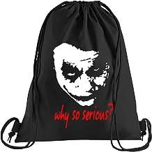 T-shirt People Joker Why so Serious? Sporttas – bedrukte tas – een mooie sporttas tas met koorden