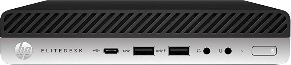 2019 HP EliteDesk 800 G3 Business Mini PC Desktop Computer, Intel Quad-Core i5-7500 up to 3.8GHz, 16GB DDR4 RAM, 256GB SSD, 802.11ac WiFi, Bluetooth, USB 3.1, Keyboard & Mouse, Windows 10 Professional