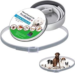 Jamisonme Collares contra pulgas y garrapatas para Perros Gatos - 8 Meses de protección - Anti