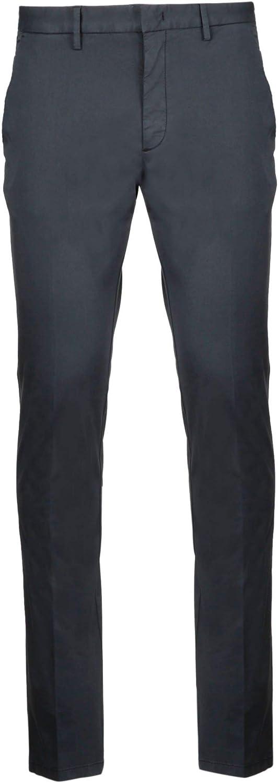 Z ZEGNA Men's VS108ZZ357K08 Grey Cotton Pants